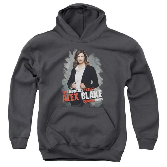 Criminal Minds Alex Blake Youth Pull Over Hoodie