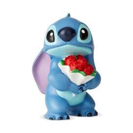 Stitch [Holding Flowers] Mini Figurine