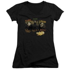 Mirrormask Hungry Junior V Neck T-Shirt