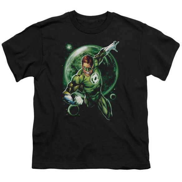 Green Lantern Galaxy Glow Short Sleeve Youth T-Shirt