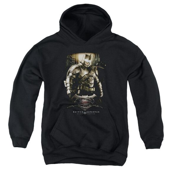 Batman V Superman Bats Ground Zero Youth Pull Over Hoodie