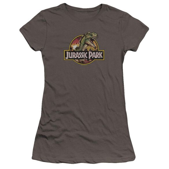 Jurassic Park Retro Rex Premium Bella Junior Sheer Jersey