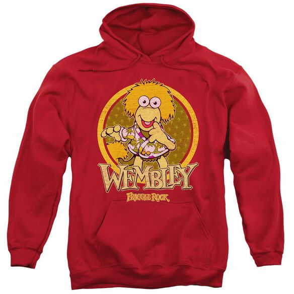 Fraggle Rock Wembley Circle Adult Pull Over Hoodie