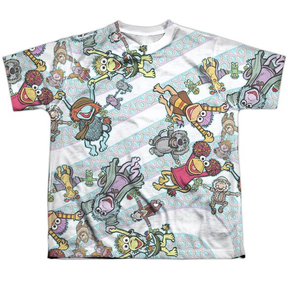 Fraggle Rock Cyclone Short Sleeve Youth Poly Crew T-Shirt
