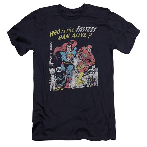 Jla Fastest Man Hbo Short Sleeve Adult T-Shirt