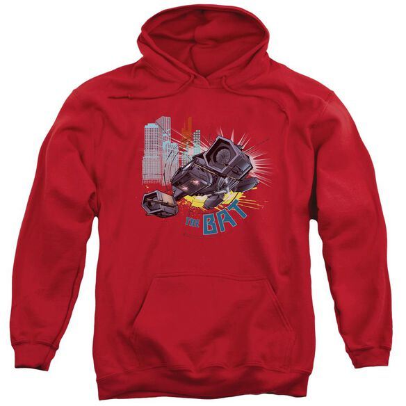 Dark Knight Rises The Bat Adult Pull Over Hoodie