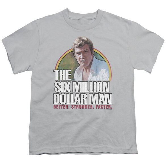 Six Million Dollar Man Better. Stronger. Faster. Short Sleeve Youth T-Shirt