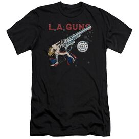 La Guns Cocked And Loaded Premuim Canvas Adult Slim Fit