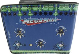 Mega Man 2 Bubble Man Stage Wallet