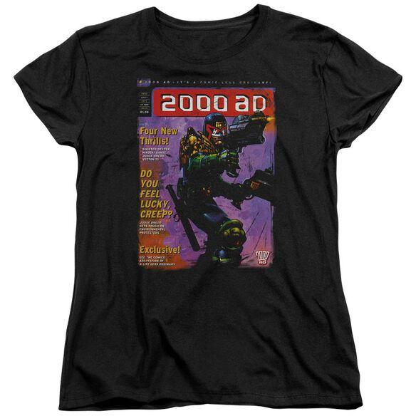 JUDGE DREDD 1067 - S/S WOMENS TEE - BLACK T-Shirt