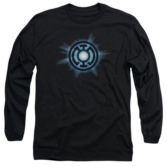 Green Lantern Blue Glow Long Sleeve Adult T-Shirt