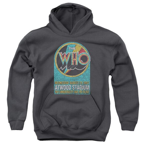 The Who Atwood Stadium Youth Pull Over Hoodie