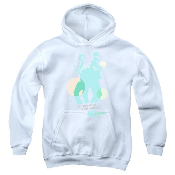 Psych Predict And Serve Youth Pull Over Hoodie