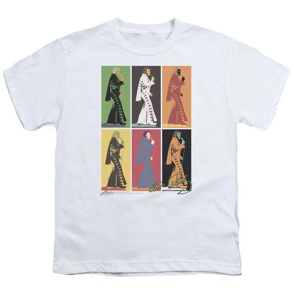 Elvis Retro Boxes Short Sleeve Youth T-Shirt