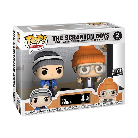 Funko Pop! The Office: The Scranton Boys [2 Pack]