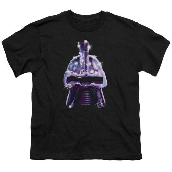 Bsg Retro Cylon Head Short Sleeve Youth T-Shirt