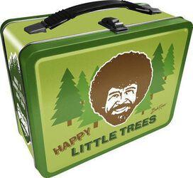 Bob Ross Happy Trees Lunchbox