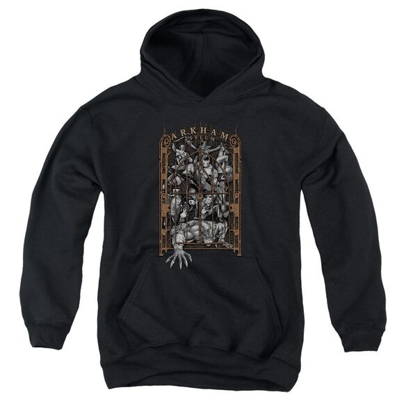Batman Arkham's Gate Youth Pull Over Hoodie