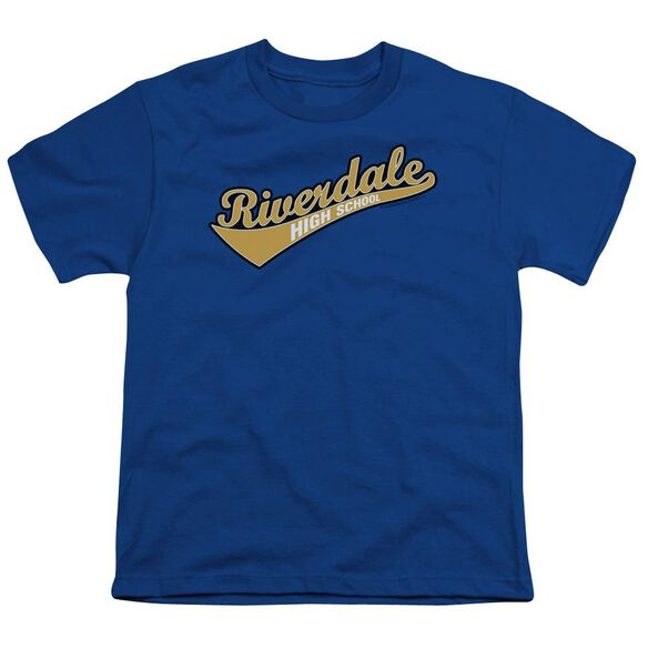 Archie Comics Riverdale High School Short Sleeve Youth Royal T-Shirt