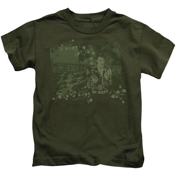 Elvis That 70 S Elvis Short Sleeve Juvenile Military T-Shirt