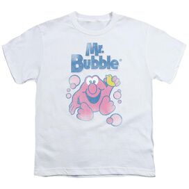 Mr Bubble 80 S Logo Short Sleeve Youth T-Shirt