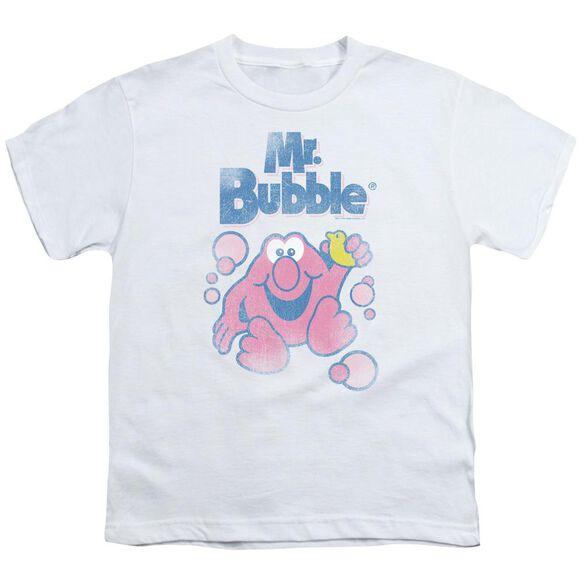 Mr Bubble 80 S Logo Short Sleeve Youth T-Shirt