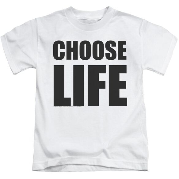 Wham Choose Life Short Sleeve Juvenile T-Shirt