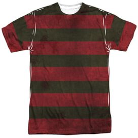 Nightmare On Elm Street Freddy Sweater Short Sleeve Adult Poly Crew T-Shirt