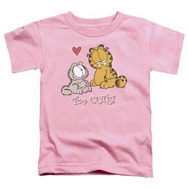 Garfield Too Cute Short Sleeve Toddler Tee Pink Sm T-Shirt