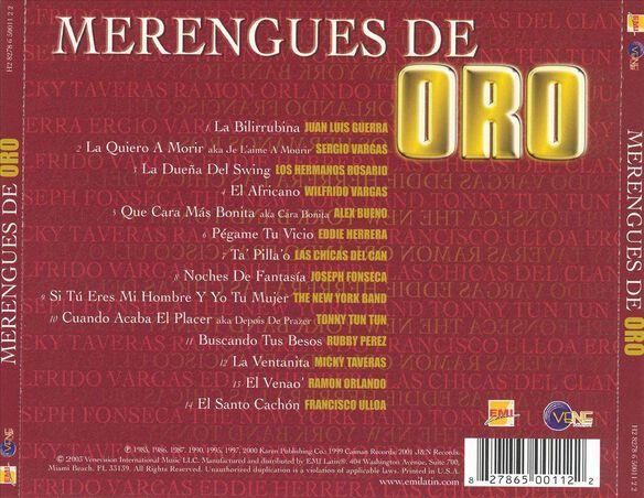 Merengues De Oro 0903