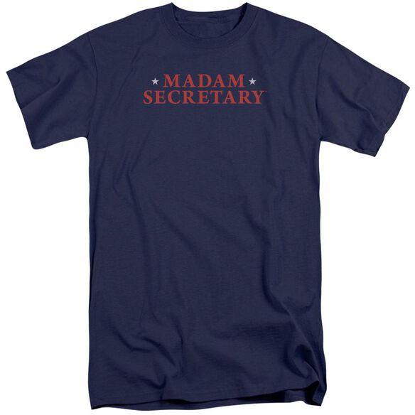 Madam Secretary Logo Short Sleeve Adult Tall T-Shirt