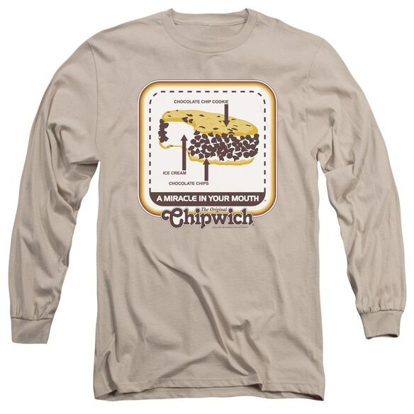 Chipwich Mouth Miracle Long Sleeve Adult T-Shirt