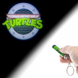Ninja Turtles Logo Flashlight Keychain
