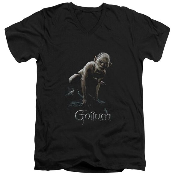 Lor Gollum Short Sleeve Adult V Neck T-Shirt