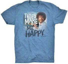 Bob Ross Trees Make Me Happy T-Shirt