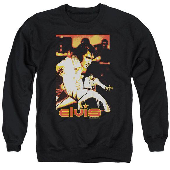Elvis Showman Adult Crewneck Sweatshirt