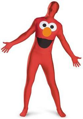Sesame Street Elmo Bodysuit Costume
