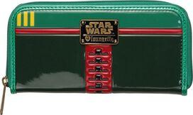 Star Wars Boba Fett Head Zipper Clutch Wallet