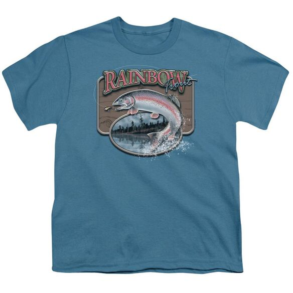 Wildlife Rainbow Trout Short Sleeve Youth T-Shirt