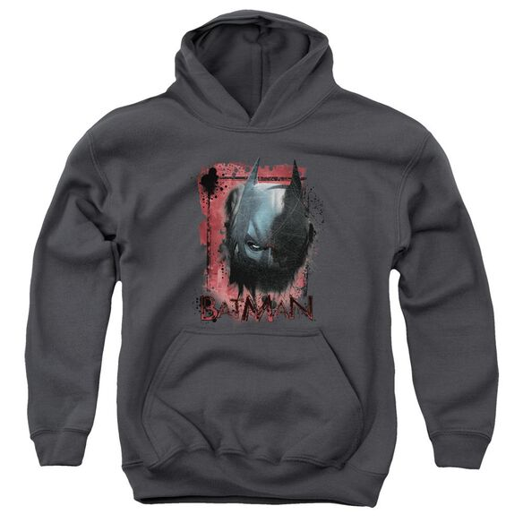Dark Knight Rises Fear Me Youth Pull Over Hoodie