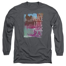 Woodstock Plm Long Sleeve Adult T-Shirt