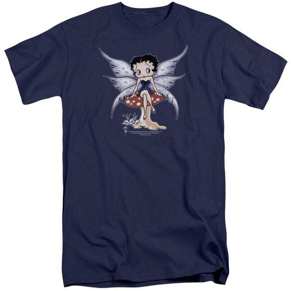 Betty Boop Mushroom Fairy Short Sleeve Adult Tall T-Shirt