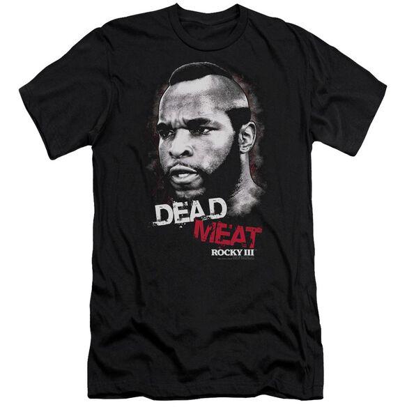 Rocky Iii Dead Meat Short Sleeve Adult T-Shirt