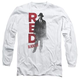 Blacklist Red Long Sleeve Adult T-Shirt