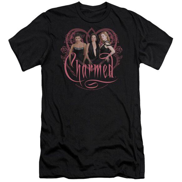 CHARMED CHARMED GIRLS - S/S ADULT 30/1 - BLACK T-Shirt