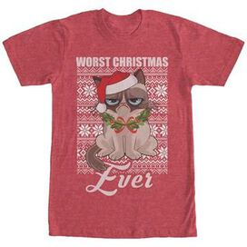 Grumpy Cat Worst Christmas Ever T-Shirt