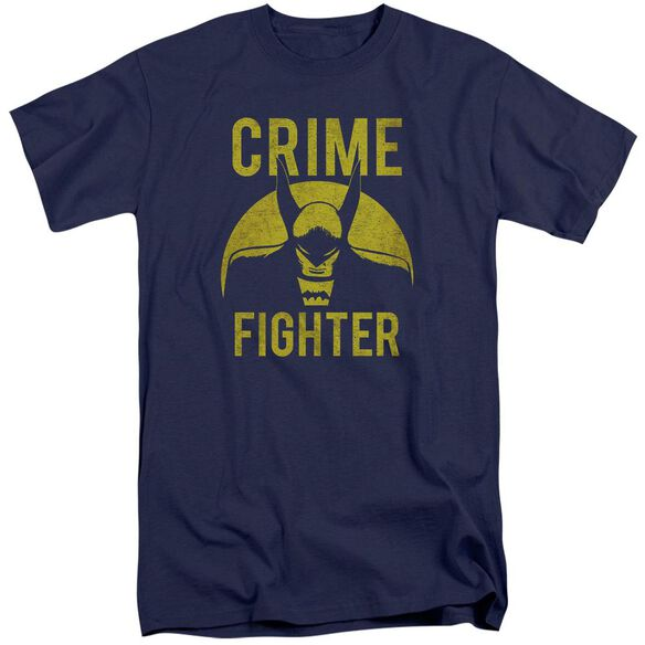 Dc Fight Crime Short Sleeve Adult Tall T-Shirt