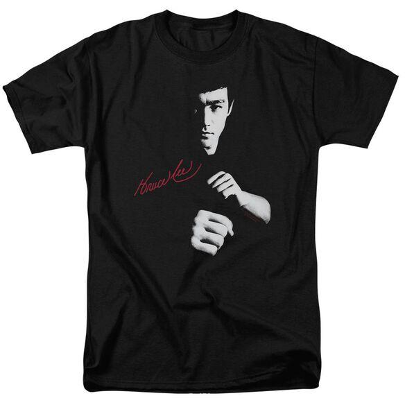 Bruce Lee The Dragon Awaits Short Sleeve Adult T-Shirt