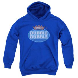 Dubble Bubble Vintage Logo-youth Pull-over Hoodie - Royal