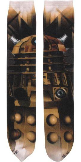Doctor Who Dalek Sublimated Crew Cut Socks